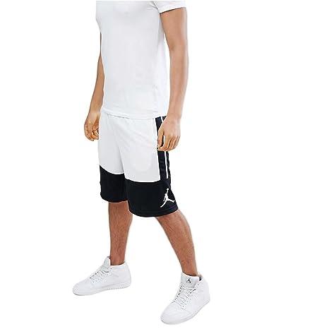 new products 92bca 38294 Nike Rise Solid, Pantaloncini Uomo, Nero Bianco, XL