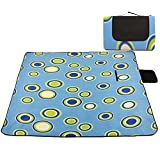 1 x Extended Yoga Mat - Dampproof Picnic Rug / Lightweight Beach Mat / Anti-slip Fitness Mat for Yoga / Pilates / Aerobics / Picnic / Camping / Baby