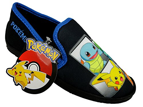 Pokemon Pikachu Kinder Jungen Ohne Bügel Twin Gusset Haus Pantoffeln