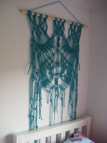 Boho Macrame Wall Hanging  - geometric wall art