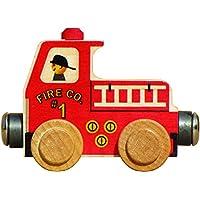 Camión de bomberos NameTrain - Hecho en EE.