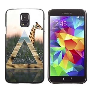 Designer Depo Hard Protection Case for Samsung Galaxy S5 / Cool Giraffe & Nature