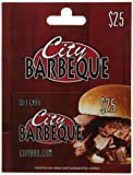 restaurant city - City Barbeque Gift Card $25