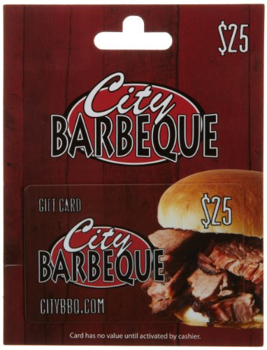 City Barbeque Gift Card $25