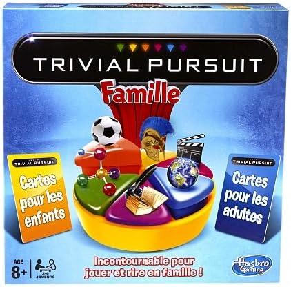 Hasbro - Trivial Pursuit Familia (versión en francés): Amazon.es: Juguetes y juegos