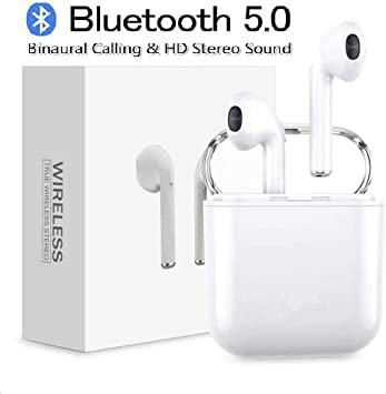 BDEZB Auriculares inalámbricos con Bluetooth V5.0 TWS