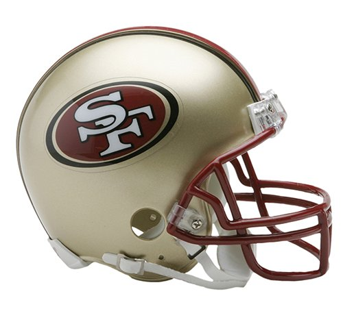 1996 Riddell Mini - San Francisco 49ers 1996-08 Throwback NFL Riddell Replica Mini Helmet