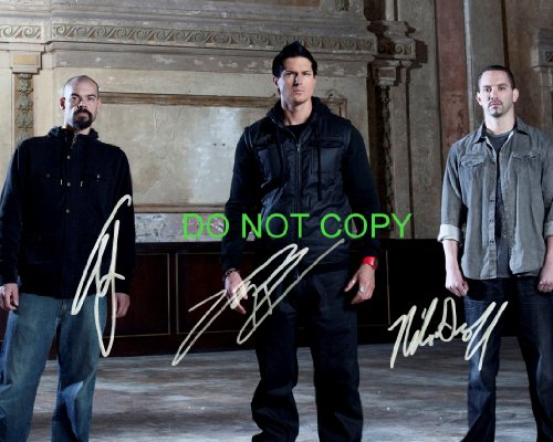 Ghost Adventures cast reprint signed photo #4 RP Zak Bagans Groff Goodwin from Loa_Autographs