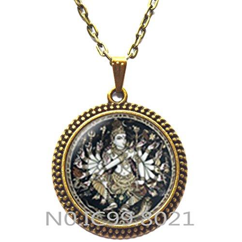hinduism shiva gods Pendant, Nataraja Necklace ,Hindu Necklace , Shiva Nataraja, Buddhist jewelry, Spiritual -