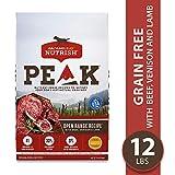 Image of Rachael Ray Nutrish PEAK Natural Dry Dog Food, Grain Free Open Range Recipe with Beef, Venison & Lamb, 12 Lbs
