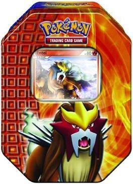 Pokémon Trading Card Game 2010 Holiday Tin - Entei by Pokémon