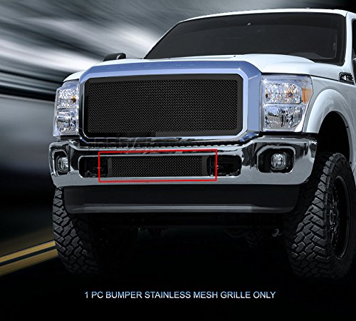 Lower Mesh Grille (Fedar Lower Bumper Wire Mesh Grille for 2011-2015 Ford Super Duty Selected Models)