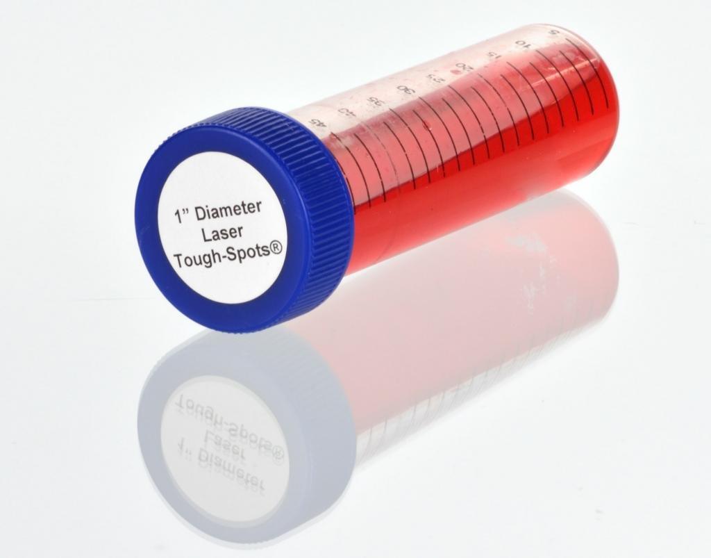 Diversified Biotech Tough-Spots SPOT-4000 Polyvinyl Laser Label, 1'' Diameter (Pack of 1260)
