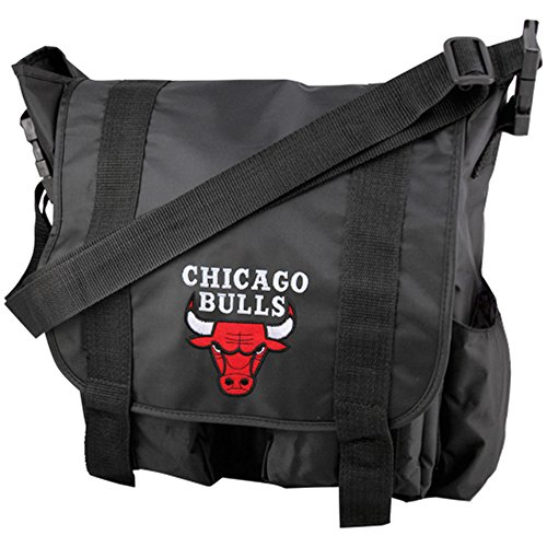 (Concept One NBA Chicago Bulls Team Logo Diaper Bag with Changing Pad )