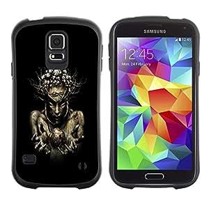 Paccase / Suave TPU GEL Caso Carcasa de Protección Funda para - Nature Wood Sorcerer - Samsung Galaxy S5 SM-G900