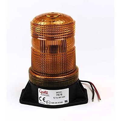 Grote 78783 Amber LED Material Handling Beacon (Low Intensity): Automotive