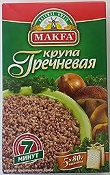 Buckwheat Groats {Grechka} 5 Bags / 80 Grams - Pack of 2
