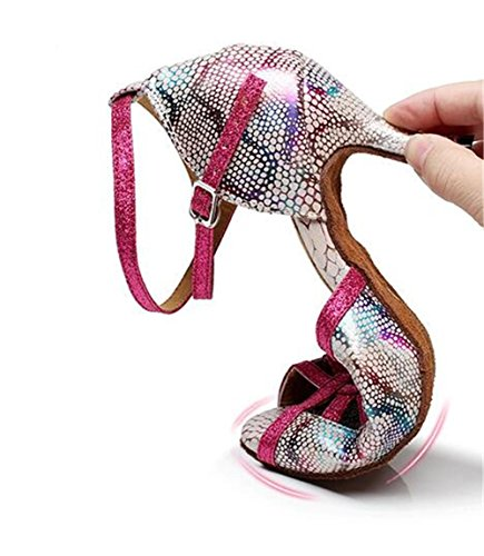 latino sala XIE rosa Da donna ballo 35 da da Scarpe EU37 PU 75CMHEEL 40 danza pompe sandali Taogo EU36 a ccqS0p