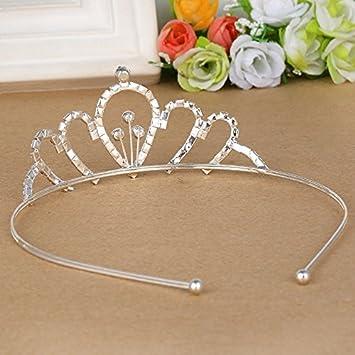 Amazon.com: Cantidad 1 x pelo princesa coreano Crystal Niñas ...
