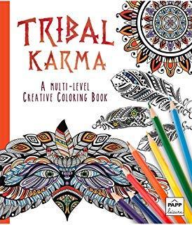 Synergy Media - Tribal Karma ~ A Multi-Level Creative Coloring Book ...