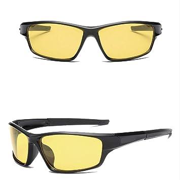 KERVINZHANG Gafas de Sol Deportivas polarizadas de la visión Nocturna Que conducen Gafas de Sol de