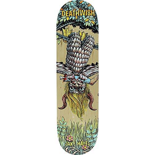 Deathwish Hayes Beast Mode Skateboard Deck -8.0 - Assembled AS Complete Skateboard (Complete Skateboard Deathwish)