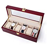 Decorative Jewelry Boxes,Woody Watch Storage Box Sorting Bracelet Collection Box Jewelry Display Box