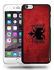 Albania National Vintage Flag Phone Case Cover Designs for iPhone 6 Plus
