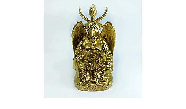 Baphomet Buddha StatueBrilliant Gold