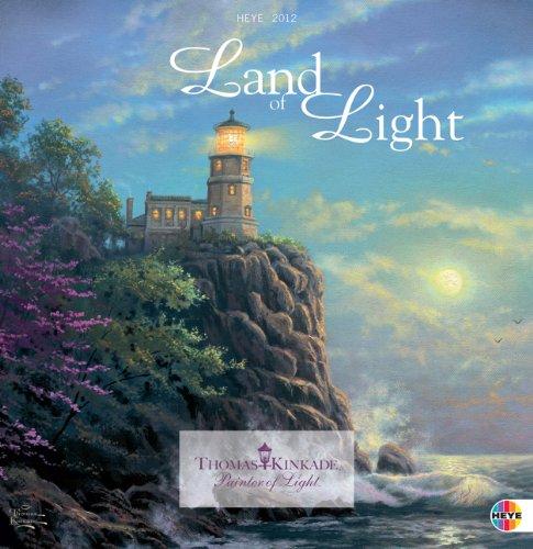Land of Light Broschurkalender 2012: Mit Jahresübersicht 2011