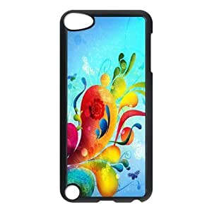 Ipod Touch 5 Creative 3D figure Phone Back Case DIY Art Print Design Hard Shell Protection YT047219