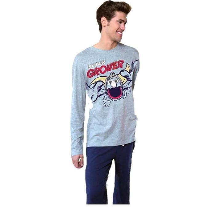 Pijama Hombre SUPERCOCO Barrio Sésamo SUPERGROVER (S)