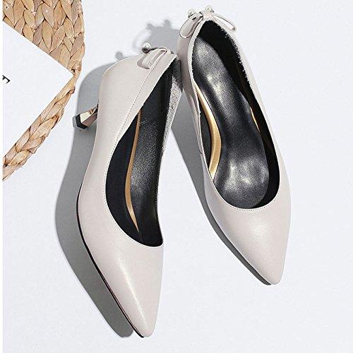 de pour Pompes Talons Travail Gris Chaussures Femmes Pourboires Hauts Strass Talon Mi DKFJKI A4UqxH8wq