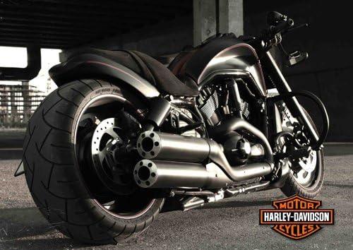Harley davidson A4 - 5 - Moto - classic Moto - chopper moto ...