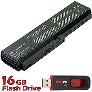 Battpit Bateria de repuesto para portátiles LG Widebook R480-K.ARD3WE1 (4400 mah) Con memoria USB de 16GB GRATUITA