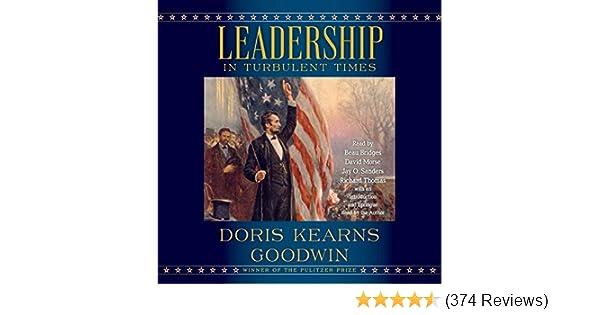 Amazon com: Leadership (Audible Audio Edition): Doris Kearns