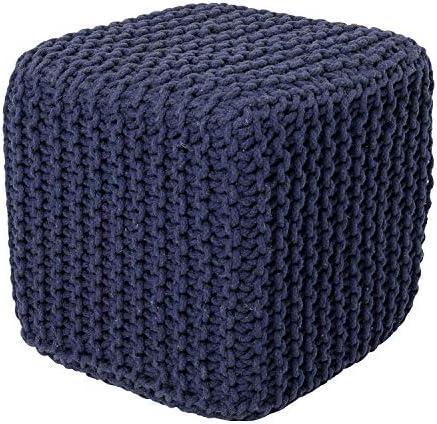 REDEARTH Cube Pouf Ottoman