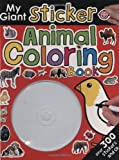 My Giant Sticker Animal Coloring Book, Roger Priddy, 0312500971