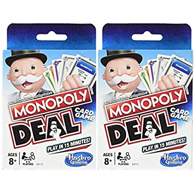 Hasbro Monopoly Deal Two Pack: Toys & Games