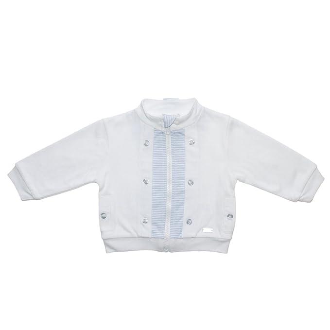 Coco - Chaqueta Deportiva - Chaqueta - para bebé niño Blanco Blanco S: Amazon.es: Ropa y accesorios