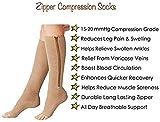 (2 Pairs) Compression Socks, New Compression Zip