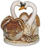 """Harmony Kingdom """"Pillow Talk"""" Swan Figurine"""