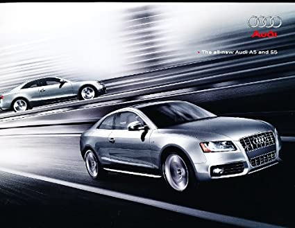 Amazon 2008 Audi A5 And S5 Coupe Deluxe Sales Brochure Book