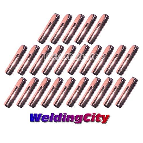 25 Contact Tips 7489 0.035' for Bernard Q/S MIG Welding Guns WeldingCity