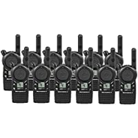 12 Pack of Motorola CLS1410 Two way Radio Walkie Talkies