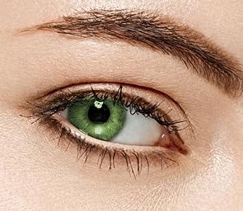 Schlussverkauf kostengünstig Größe 40 Farbige Kontaktlinsen 3 Monatslinsen hellgrün eis grün