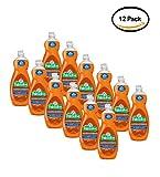 PACK OF 12 - Palmolive Ultra Anti-Bacterial Dish Soap, Orange, 32.5 Oz