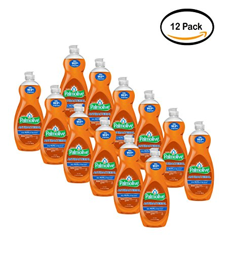 PACK OF 12 - Palmolive Ultra Anti-Bacterial Dish Soap, Orange, 32.5 Oz by Palmolive