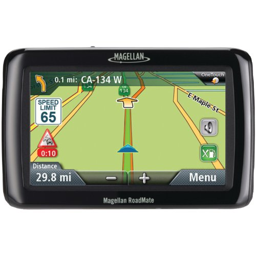Magellan RM2120SGXUC Roadmate 4.3-Inch GPS Device with Free Lifetime Traffic Updates by Magellan