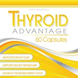 Thyroid Advantage – Thyroid Supplement Formulated With Iodine (from kelp), Selenium, L-Tyrosine, Bladderwrack, and More To Help Increase Energy, Boost Metabolism, and Aid Weight Loss, Health Care Stuffs